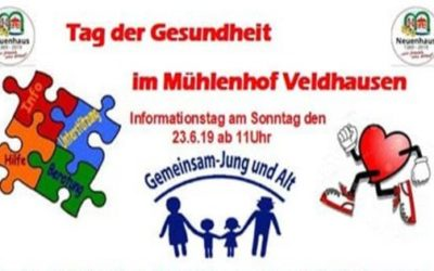 650 Jahre Neuenhaus – Tag der Gesundheit im Mühlenhof Veldhausen
